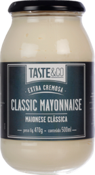 Maionese Classica Taste & Co 470G