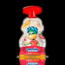 Iogurte Infantil Danoninho Pra Levar Morango E Banana 70G