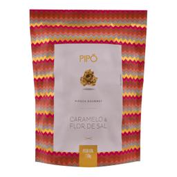 Pipoca Caramelo E Flor De Sal Sache Pipo 110g