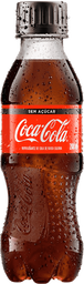 Refrigerante Coca Cola Zero Pet 200ml