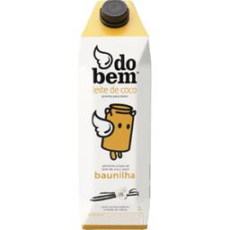 Alim Base Leite De Coco Do Bem Baunilha 1L