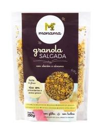 Granola Salgada Alecrim E Curcuma Monama 250g