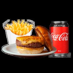 Cheeseburger + Fritas + Refri