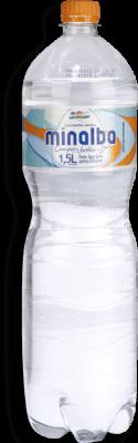 Água Mineral com Gás MINALBA Garrafa 1,5 Litros