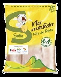 Filé De Peito De Frango Sadia Congelado Zip Pacote 1 Kg