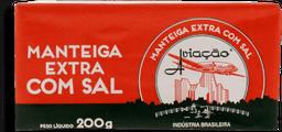Manteiga Aviação Tablete Com Sal 200 g