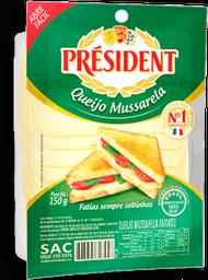 Queijo Mussarela President Fatiado 150 g