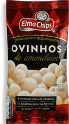 Ovinhos de Amendoim ELMA CHIPS Pacote 100g