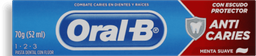 Creme Dental Oral-B 123 Anti Cáries 70g