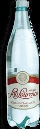 Água Mineral com Gás SÃO LOURENÇO Garrafa 1,26 Litros