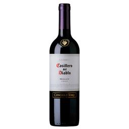 Vinho Tinto Seco Casillero Del Diablo 2015 Merlot 750Ml