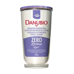 Requeijão Cremoso Sem Lactose Light Danubio Zero 220G