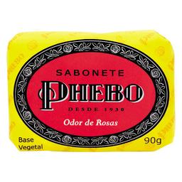 Sabonete Em Barra Corporal Phebo Odor De Rosas 90G