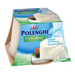 Queijo Frescal Ultrafiltrado Light Peça Polenghi Frescatino 250G