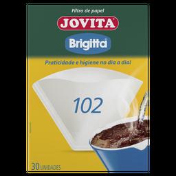 Filtro de Papel 102 Jovita com 30 unidades