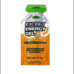 Advanced Nutrition Exceed Energy Gel Limão 30 g Com 10 Und