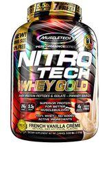 Muscletech Nitrotech 100% Whey Gold 2.2Lbs French Vanilla Creme