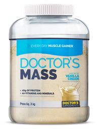Doctor´S Mass Every Day Muscle Gainer Vanilla Cream 3 Kg