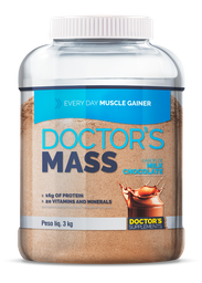 Doctor´S Mass Every Day Muscle Gainer Milk Chocolate 3 Kg