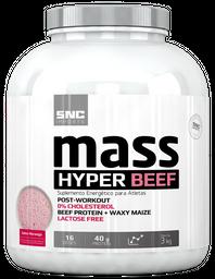 Snc Imports Mass Hyper Beef Morango 3 Kg