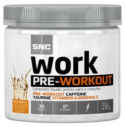 Snc Imports Work Preworkout Abacaxi 210 g