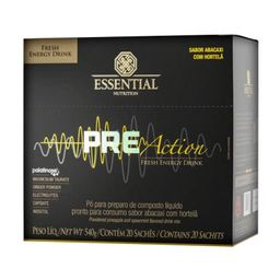 Essential Nutrition Pre Action Abacaxi e Hortelã 540 g