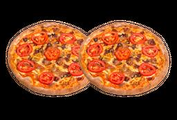 2x1 - Pizzas 25cm - 4 Fatias