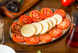 Salada Palmito e Tomate