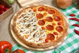 Monte sua Pizza Mafiosa Grande 2 Sabores