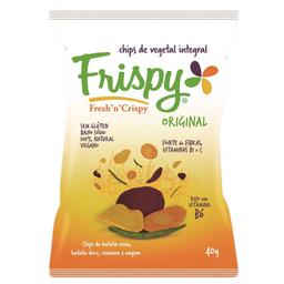 Chips Frispy Mix Vegetal 40G