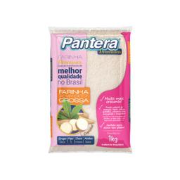 Farinha Mandioca Grossa Pantera 1Kg