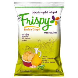 Chips Frispy Mediterraneo 40G
