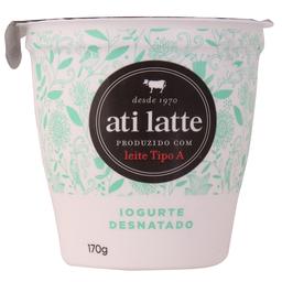 Iogurte Natural Ati Latte 170G Desnatado