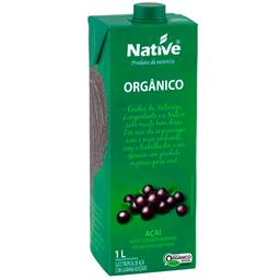 Suco Orgânico Native Acai/Guarana 1L