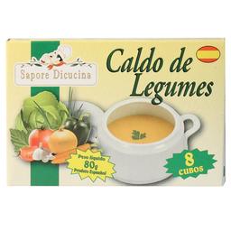 Caldo Esp Sapore Dicucina 80G Legumes