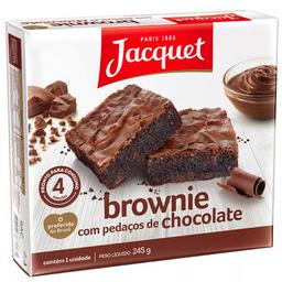 Brownie Jacquet 245G Chocolate