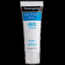 Protetor Solar Neutrogena Sun Fresh Facial FPS 60 50g