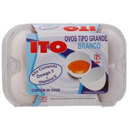 Ovo Ito Omega 3 Branco C/6