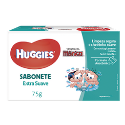 Huggies Sabonete Em Barra Extra Suave – 75G