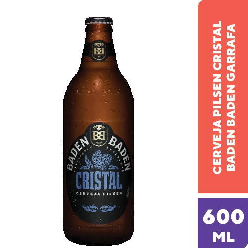 Cerveja Nacional Baden Baden Crist Gf 600Ml