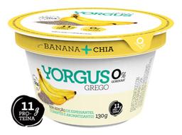 Iogurte Grego Yorgus 130G Banana Com Chia
