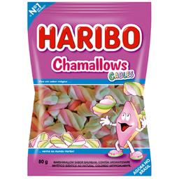 Marshmallow Haribo Cables 80G