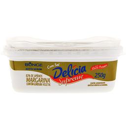 Margarina Delicia Supreme C/Sal250G