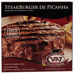 Hamburguer Steak Picanha Vpj 420G