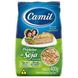 Proteina Soja Camil Texturizada400G Frango