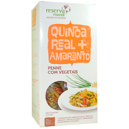 Reserva Mundi Mac Quinoa Real Amar Penne Vegetais