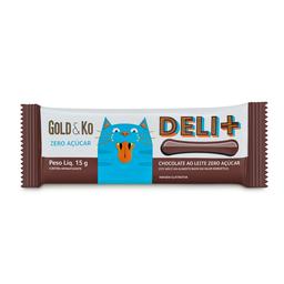 Chocolate Deli Zero Açúcar Gold E Ko 15G
