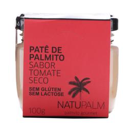 Patê De Palmito Natupalm 100G Tomate Seco