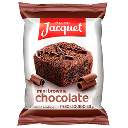 Mini Brownie Jacquet 30G Choc