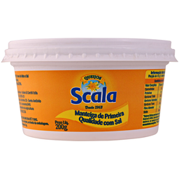 Manteiga Scala Pt 200G C/Sal